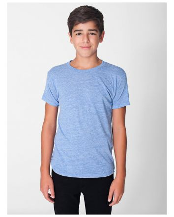 American Apparel Youth Tri-Blend Tee