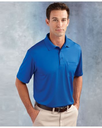 Paragon Adult SNAG-PROOF Performance Polo with Pocket