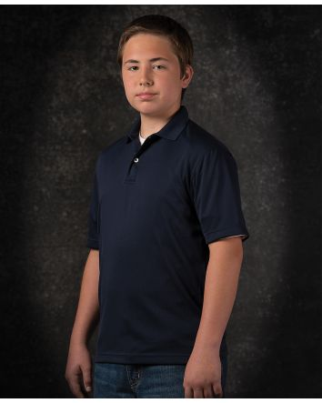Featherlite Youth Moisture Free Solid Sport Shirt